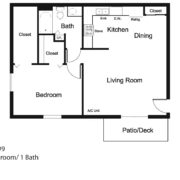 1-Bedroom Lower #9