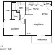 1-Bedroom Upper #13